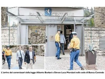 centrale della repubblica di san marino san marino centrale il dr andrea vivoli rimane