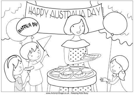 Australia Day Coloring Pages 17 Coloring Kids Australia Day Coloring Pages