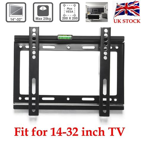 Tv Lcd Led 14 Inch plasma led lcd tv wall mount bracket 14 17 19 20 22 24 26 28 30 32 quot inch vesa uk ebay