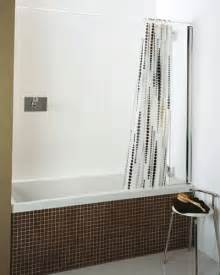 shower curtain bath screen roman collage mini fixed shower bath screen inc curtain