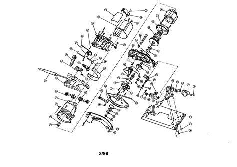 milwaukee circular  parts model  sears