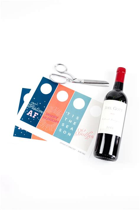 printable gift tags for wine bottles printable wine bottle gift tags let s mingle blog