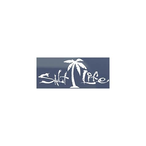 salt life decal salt life sa187 signature palm tree decal