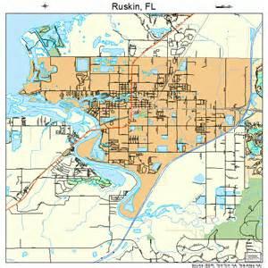 ruskin florida map 1262275