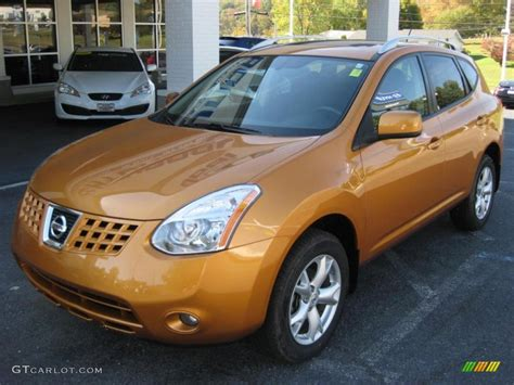 orange nissan rogue orange alloy metallic 2008 nissan rogue s exterior photo