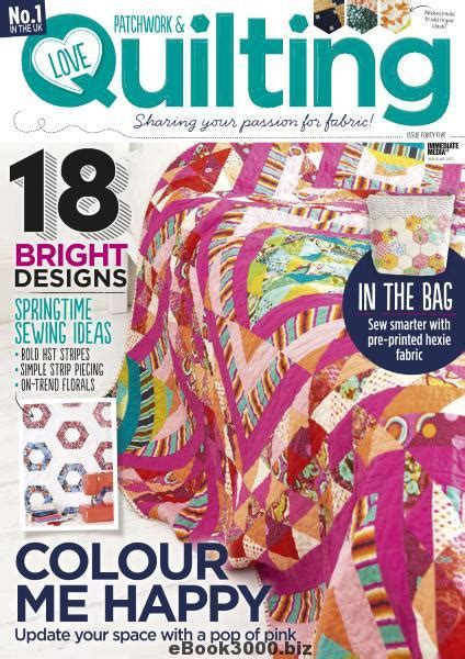 patchwork quilting issue 45 2017 free pdf