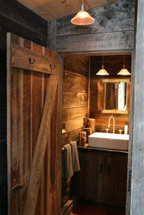 Rustic Cabin Bathrooms by Rustic Cabin Bathroom Rustic Bathroom New York By