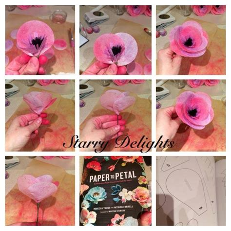 rice paper flower tutorial wafer paper flower tutorial cakecentral com