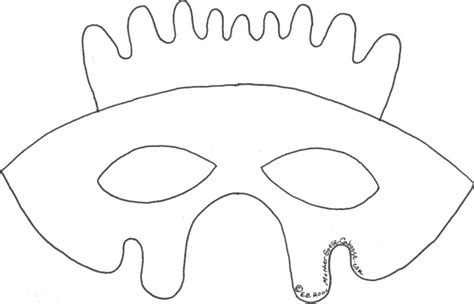 printable chick mask template hen mask