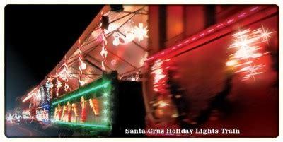 roaring c holiday lights train a santa cruz kind of christmas kings river life magazine
