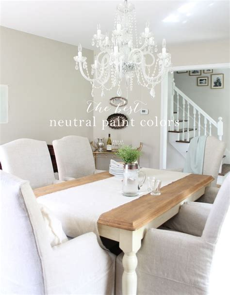 best wall color to showcase art a pretty neutral paint palette that transitions well from