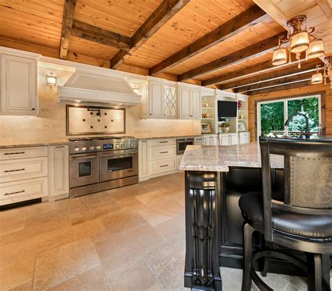 log cabin kitchen howell  jersey  design  kitchens