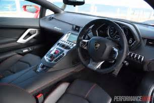 Interior Of A Lamborghini 2015 Lamborghini Aventador Lp700 4 Review