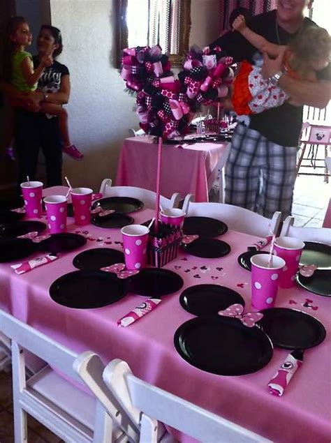birthday themes minnie mouse minnie mouse birthday party ideas photo 29 of 50 catch