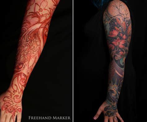 seasons tattoo psalmist s seasons sleeve by gabriel tenneson tattoonow
