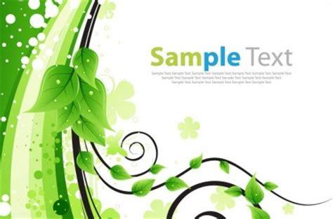 wallpaper abstrak romantis kartu ucapan bunga hijau vektor ilustrasi vektor tanaman