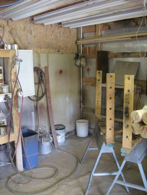 cabinet shop spray booth claridge s wood shop