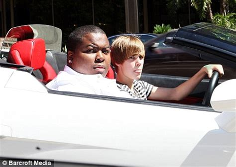 Lamborghini Truck Diddy Justin Bieber Is Driving Lamborghini That P Diddy Promised