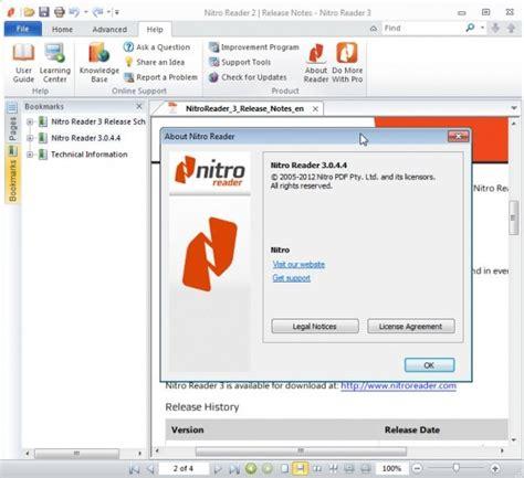 0 nitro testo nitro reader 3 0 disponibile la nuova versione