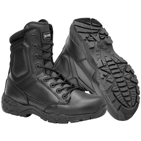 magnum leather boots magnum viper pro 8 0 leather boots mens waterproof security patrol black ebay