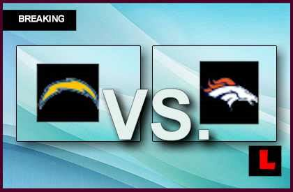 broncos and chargers score chargers vs broncos 2013 scores channel confusion