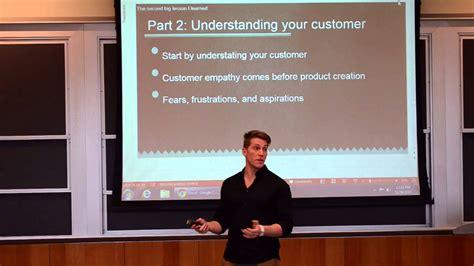 Wharton Equity Mba by Wharton Business School Entrepreneurship Speech Former