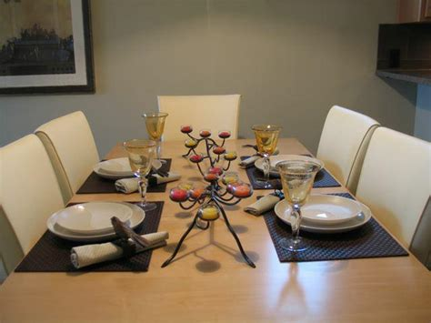 contemporary setting a few fav table settings contemporary serene staging bling