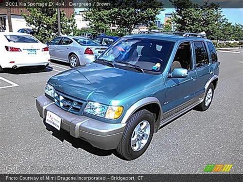 Kia Evergreen Evergreen 2001 Kia Sportage Ex 4x4 Brown Interior