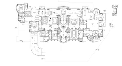 beverly hills mansion floor plans proposed 56 000 square foot beverly hills mega mansion