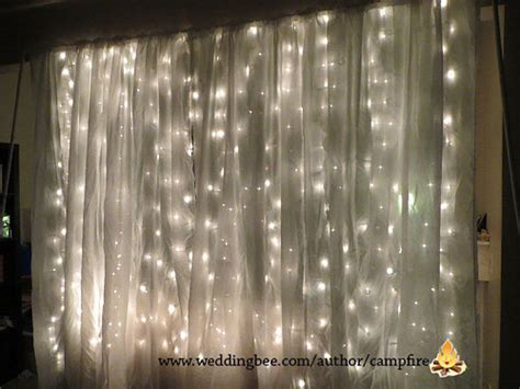 wedding backdrop with lights photo booth backdrop 23 unique ways to decorate with