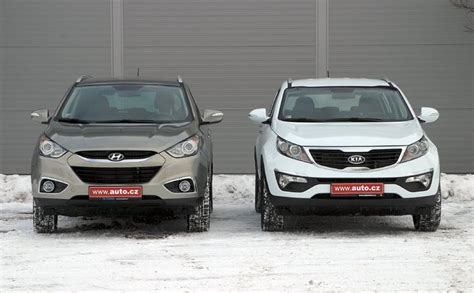 Hyundai Ix35 Or Kia Sportage Galerie Hyundai Ix35 1 7 Crdi Vs Kia Sportage 1 7 Crdi