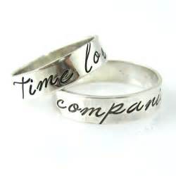 dr who wedding ring doctor who wedding bands time lord companion ringscollection