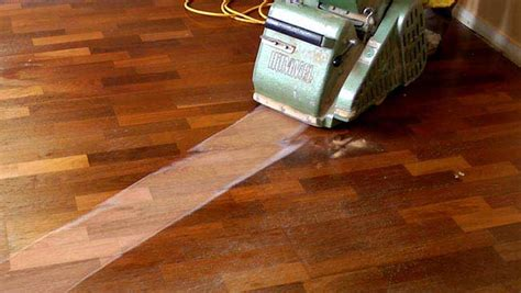 the most effective method to refinish a floor