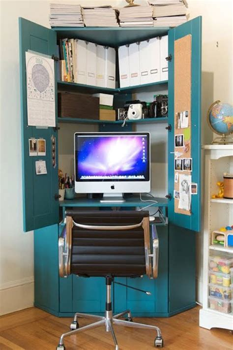 clever desk ideas 15 creative ways to repurpose an antique armoire