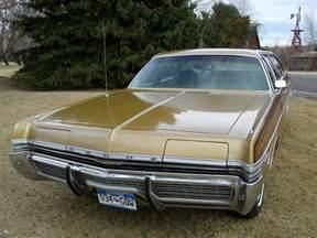 Dodge Wagon Golden Royalty 1972 Dodge Monaco Wagon