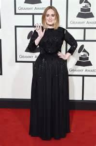 Adele black givenchy dress 2016 grammys