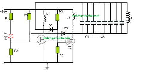 Wifi Receiver Circuit Diagram Circuit And Schematics Diagram Wireless Cellphone Battery Charger Circuit