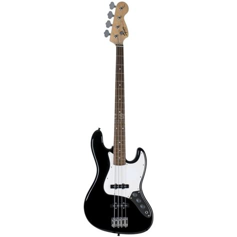 Bass Black fender squier squier affinity jazz bass rw black