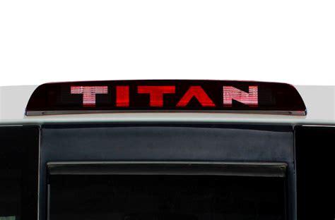 nissan titan brake light nissan titan 04 13 vinyl graphics for3rd brake light