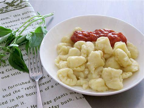 cuisiner gnocchi recette gnocchi
