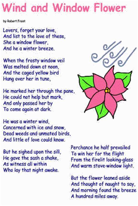 Wind And Window Flower Poem