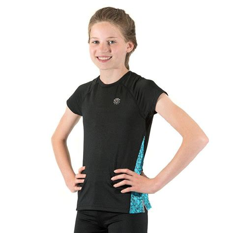 Sports Sleeve Top everactiv sleeve sports top in black