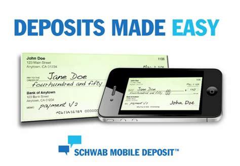 schwab bank phone charles schwab bank mobile deposit jpg