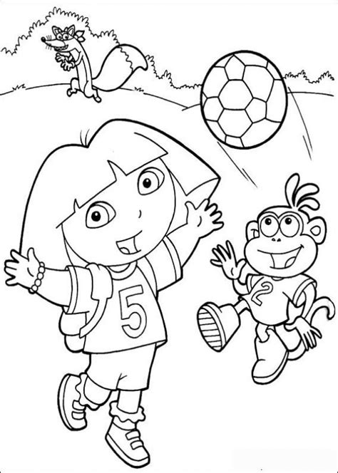 dora the explorer coloring pages nick jr 67 best nick jr coloring pages images on pinterest
