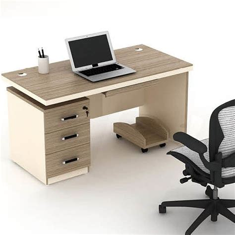 china global office furniture simple computer table wood design computer desk