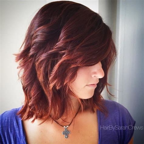 Shoulder Length Hairstyles With Layers by Shaggy Layered Shoulder Length Hair Hairstylegalleries