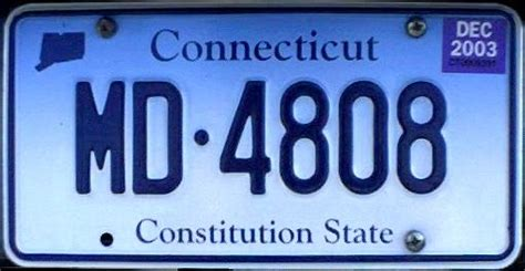 Ct Vanity Plates by Image Connecticut License Plates