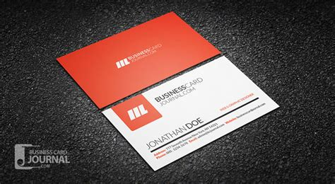 simple business card templates 55 free creative business card templates designmaz