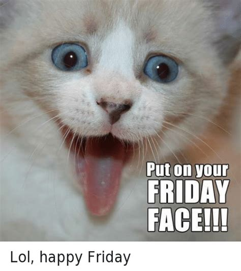 Friday Cat Meme - happy friday grumpy cat www pixshark com images