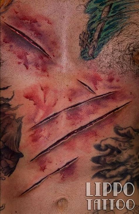 3d tattoo wolverine nothing but a mere scratch picture lippo tattoo ever